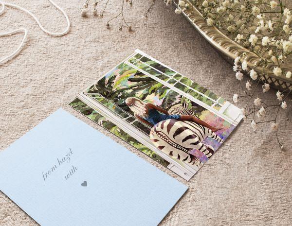 Postkarten Set mit 5 Karten