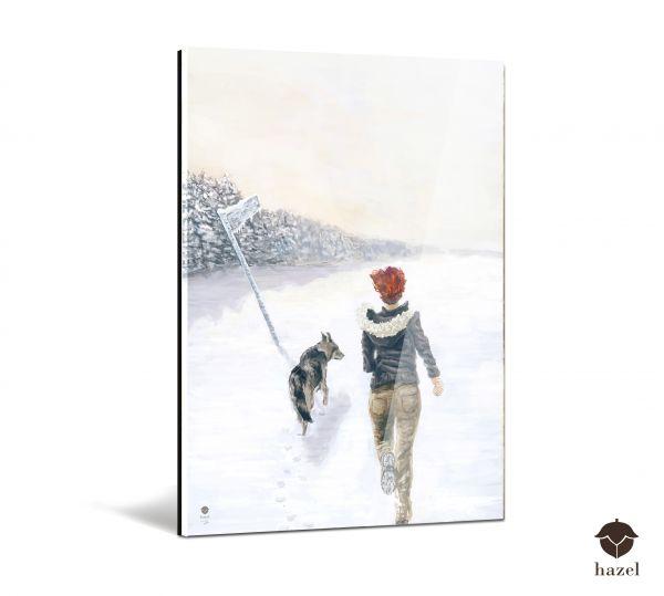 "Acrylglas Druck ""sound of winter"""