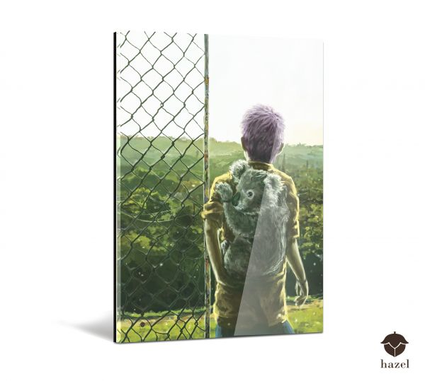 "Acrylglas Druck ""fences"""